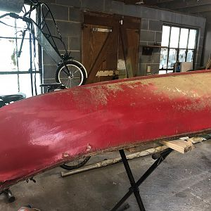 Sailing Canoe Restoration