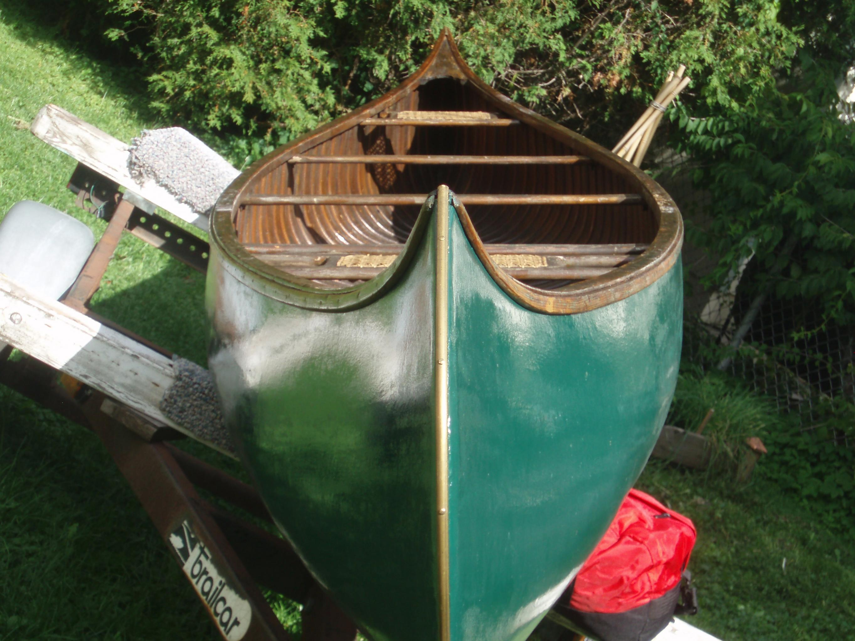"""1907 Old Town Model """"XX"""" Canoe   WCHA Forums"""