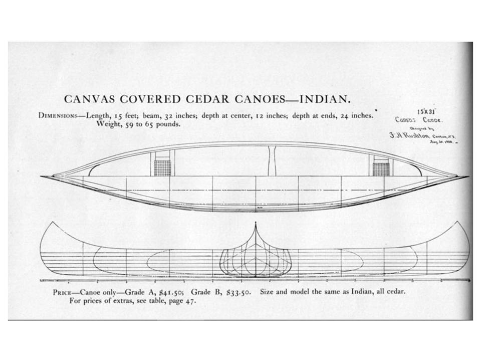 Indian Girl Canoe-How many still exist? | Page 2 | WCHA Forums